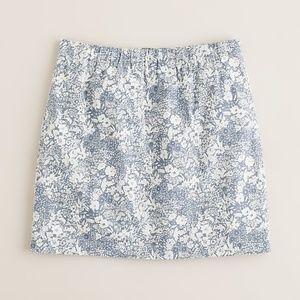 Jcrew Liberty Vintage Floral Mini Skirt